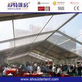500 يصمّم الناس واضحة علبيّة بيضاء [ودّينغ برتي] خيمة لأنّ عمليّة بيع