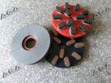 Pierre Semi-Automatique/machine de polonais en verre pour les brames de meulage de marbre/granit