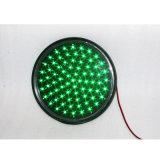 luz de sinal verde impermeável do tráfego do diodo emissor de luz de 300mm Lampwick