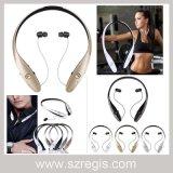 Banda para el cuello inalámbrica Teléfono móvil estéreo Accesorios auricular Bluetooth con antirrobo