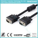 Mâle d'OEM 15pin de qualité au câble mâle du VGA