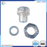 Soupape imperméable à l'eau en plastique de usinage des ampoules M12 des pièces DEL