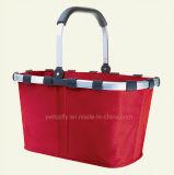 Das zusammenklappbare Einkaufen tragen Korb für Supermarkt/Supermarkt-Regal