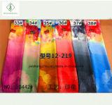 Signora stampata nuovo scialle Fashion Scarf di disegno 2017 del commercio all'ingrosso 160*50cm chiffon