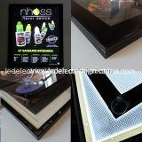 Aluminio que hace publicidad del rectángulo ligero delgado del acrílico LED con el rectángulo ligero delgado del LED