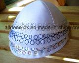 サテンの刺繍ユダヤ人Kippah/Kippot Kipot Yarmulkaの帽子の帽子