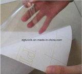Media autos-adhesivo de la impresión del rodillo de la etiqueta engomada de la película del vinilo del PVC de la pared de ventana del vidrio del coche de encargo transparente del vehículo