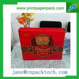 Изготовленный на заказ причудливый коробка подарка Mooncake упаковывая