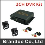 2CH táxi Mdvr do barramento do navio do carro DVR do jogo do CCTV DVR