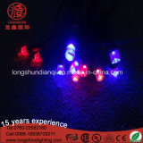 Clear Rubber Cable 24V impermeável Light String Party Decoration