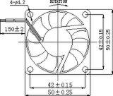 ventilador sem escova da C.C. de 5/12V 50X50X15mm com aprovações