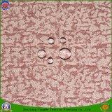 Tissu de rideau tissé par polyester imperméable à l'eau à la maison en arrêt total de franc de textile