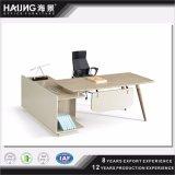 Mesa de escritório barata com a mesa de escritório lateral do projeto da mobília de escritório da tabela do escritório