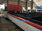 tagliatrice del laser della fibra 8000kg con velocità accelerato 1.2g