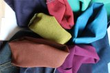 Dril de algodón del Spandex del poliester del algodón en color específico