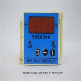 センサーが付いている情報処理機能をもったデジタル湿気のコントローラ