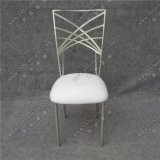 Причудливый стул задней части креста металла венчания с подвижной подушкой сиденья Yc-As47-1