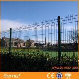 Frontière de sécurité soudée enduite par PVC de treillis métallique
