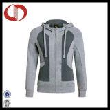 Куртка Sportswear застежки -молнии оптовых женщин полная с изготовленный на заказ логосом