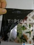 Холоднопрокатное зеркало 8k вытравило лист нержавеющей стали цвета для украшения