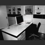 Самомоднейший стол CEO экзекьютива офисной мебели твердый поверхностный (D1612143)