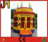 Grappige Opblaasbare Birthday Uitsmijter Castle voor Viering