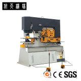Hoja de metal de la marca de fábrica de Hangli que perfora, pelando y haciendo muescas en al cerrajero Q35Y-30