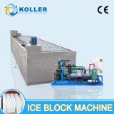 Große Kapazitäts-industrielle Block-Eis-Maschine 20 Tonnen-/Tag (MB200) für Technik-Aufbau