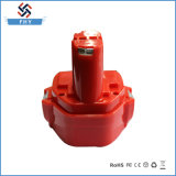 Reemplazo 12V 3000mAh Ni-MH de la batería de la herramienta eléctrica para Makita
