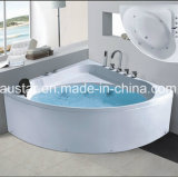 Nieuw Ontwerp 1360mm Corner Massage Bathtub SPA met Ce RoHS (bij-LW0803)