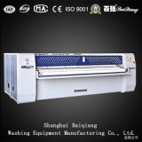 Máquina passando da lavanderia industrial quente de Flatwork Ironer do Dobro-Rolo da venda