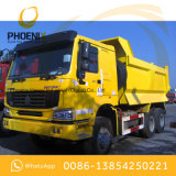 Verwendeter 336HP HOWO 10 Rad-Kipper-Kipper 6X4 mit gutem Zustand für Afrika