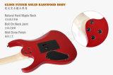 Guitarra elétrica figurada curso do folheado do bordo da alta qualidade do tipo de Aiersi