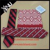 O presente tecido seda do laço do negócio de 100% ajustou-se para homens