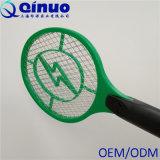 Swatter de mosca eléctrico neto de 3 capas con la célula Baterry