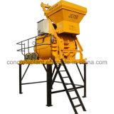 Misturador de concreto horizontal de dupla fita para material de construção em pó