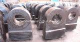 Alti pezzi fusi d'acciaio del manganese, alti martelli dell'acciaio di manganese per i frantoi
