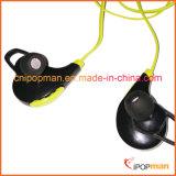 Os auriculares de Bluetooth modelam auriculares impermeáveis de Bluetooth dos auriculares de Bluetooth do modelo novo