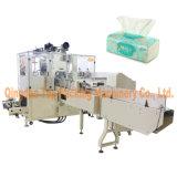 Volle automatische weiche Abschminktuch-Papier-Verpackungsmaschine