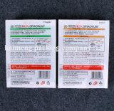 Caixas Foldable do pacote do PVC do plástico do fornecedor profissional com punho (caixa plástica do pacote)