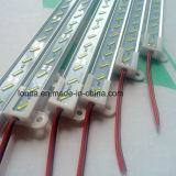 DC12V 1m 72LED SMD8520バックライトの装飾のための堅い棒ライト