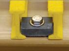 Les clips de FRP râpant la pièce de //Auto de brides/ont fixé Support//Fiberglass