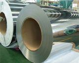 O Cr do aço inoxidável bobina 201 o revestimento do espelho de 1219mm 8k