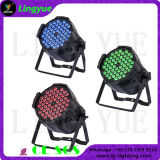 54PCS RGB de 3 watts cambio de colores LED PAR64 luces del partido barato