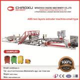 ABS Zwei-Schichten Plastikblatt-Platten-Strangpresßling-Produktionszweig Maschine (kleinerer Typ)