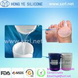 Gomma di silicone liquida del grado medico per i prodotti/sottopiedi/talloni di Footcare