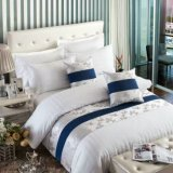 高品質の100%年の綿のホテルの織物の寝具のリネンシーツセット