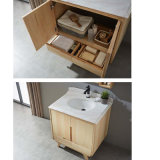 Governo rispecchiato di legno solido classico di vanità della stanza da bagno (GSP14-022)