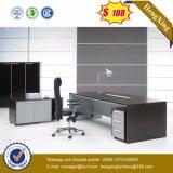 멜라민 사무실 테이블 L 모양 컴퓨터 책상 사무용 가구 (HX-6M038)