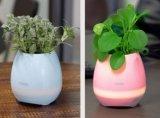 LED-helle Blumen-Potenziometer-intelligente Note Bluetooth drahtloser Pflanzer-Lautsprecher